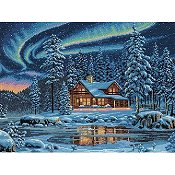 Dimensions Gold Collection Kit - Aurora Cabin THUMBNAIL