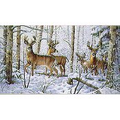 Dimensions Gold Collection Kit - Woodland Winter