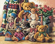 Dimensions Gold Collection Kit - Teddy Bear Gathering