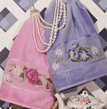 Floral Elegance Towels (E-Delivery)