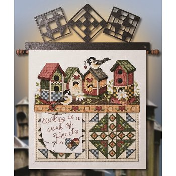 Quilting Is A Work Of Heart (E-Delivery) THUMBNAIL