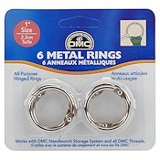 "DMC Metal Craft Rings 1"" THUMBNAIL"