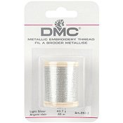 DMC Metallic Thread 283Z Light Silver THUMBNAIL