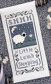 The Drawn Thread - Little Lamb Sleeping THUMBNAIL