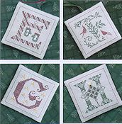 The Drawn Thread - Alphabet Ornaments Two_THUMBNAIL