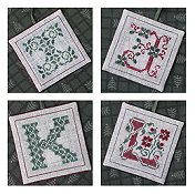 The Drawn Thread - Alphabet Ornaments Three THUMBNAIL
