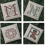 The Drawn Thread - Alphabet Ornaments Four THUMBNAIL