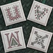 The Drawn Thread - Alphabet Ornaments Six THUMBNAIL