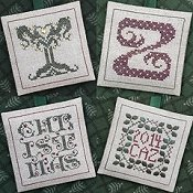 The Drawn Thread - Alphabet Ornaments Seven THUMBNAIL