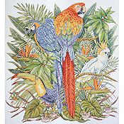 Design Works - Birds of Paradise