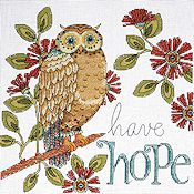 Design Works - Heartfelt - Hope Owl