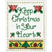 Design Works - Mini Frame Kit - Christmas In Your Heart