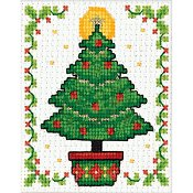 Design Works - Mini Frame Kit - Christmas Tree