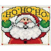 Design Works - Mini Frame Kit - Ho Ho Ho Santa