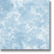 swatch of 28ct blue sky Stoney Creek dyed fabric