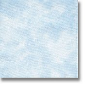 swatch of 28 ct Summer Clouds Stoney Creek Dyed cross stitch fabric