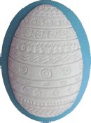 Kelmscott Designs Needle Minder - Easter Egg THUMBNAIL