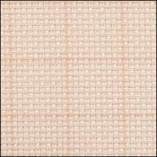 Aida 14ct Easy Count Grid Cream/Rust THUMBNAIL