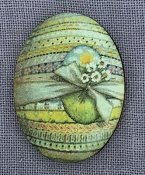 Whimsical Edge Designs Needle Minder - Easter Egg