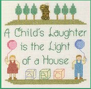Elizabeth's Designs - A Child's Laughter