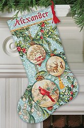 Dimensions Stocking Kit - Enchanted Ornaments MAIN