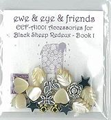 Ewe & Eye & Friends - Black Sheep Redeux Emb. Pack THUMBNAIL