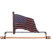 Fabric Holder - American Flag