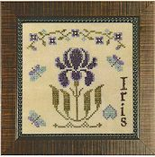 Cherished Stitches - The Fairest Flowers - April THUMBNAIL