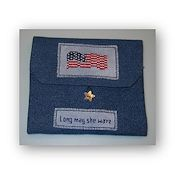Fern Ridge Collections - Long May She Wave Sewing Case