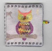 "Fern Ridge Collections - ""Owl""oween Needle Case"