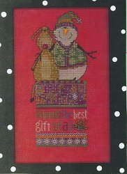 Amy Bruecken Designs - Monthly Snow People Series - Frick & Frack December Sampler
