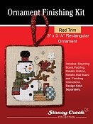 "Ornament Finishing Kit - 3"" x 3 1/4"" Red THUMBNAIL"
