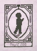 Handblessings - Special Memories Silhouette - First Communion Boy