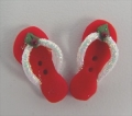 Button - Flip Flops, Holiday Glitter MAIN