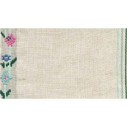 "Mill Hill Stitch Band - 27ct. Floral Trellis 6.9"" wide MAIN"