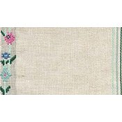 "Mill Hill Stitch Band - 27ct. Floral Trellis 6.9"" wide THUMBNAIL"