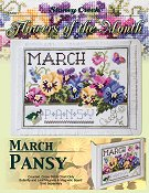 Flowers of the Month - March Pansy THUMBNAIL
