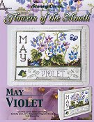 Flowers of the Month - May Violet