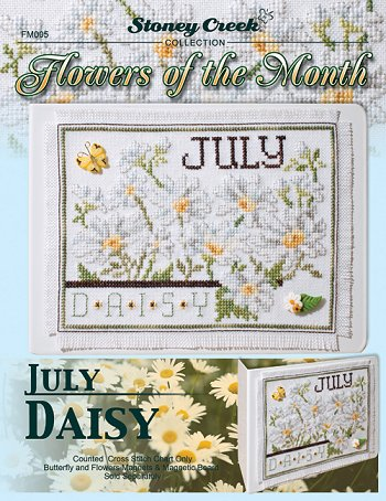 Flowers of the Month - July Daisy MAIN