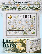 Flowers of the Month - July Daisy THUMBNAIL