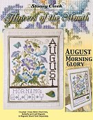 Flowers of the Month - August Morning Glory
