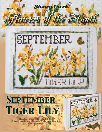 Flowers of the Month - September Tiger Lily MAIN