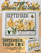 Flowers of the Month - September Tiger Lily THUMBNAIL