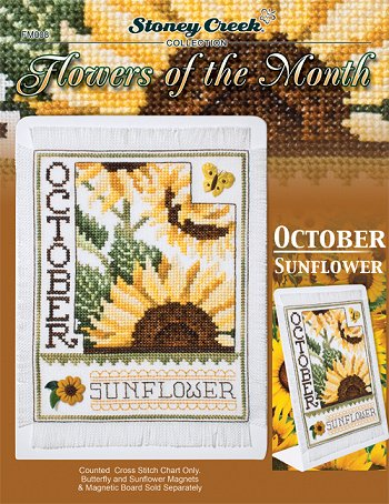 Flowers of the Month - October Sunflower MAIN