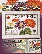 Flowers of the Month - November Zinnia