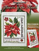 Flowers of the Month - December Poinsettia
