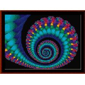 Cross Stitch Collectibles - Fractal 006 THUMBNAIL