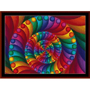 Cross Stitch Collectibles - Fractal 007 MAIN