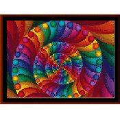 Cross Stitch Collectibles - Fractal 007 THUMBNAIL