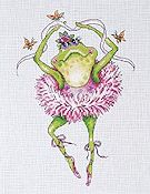 Frog Dancer Cross Stitch Kit